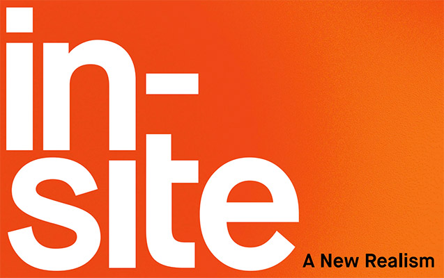 in site new realism exhibition logo